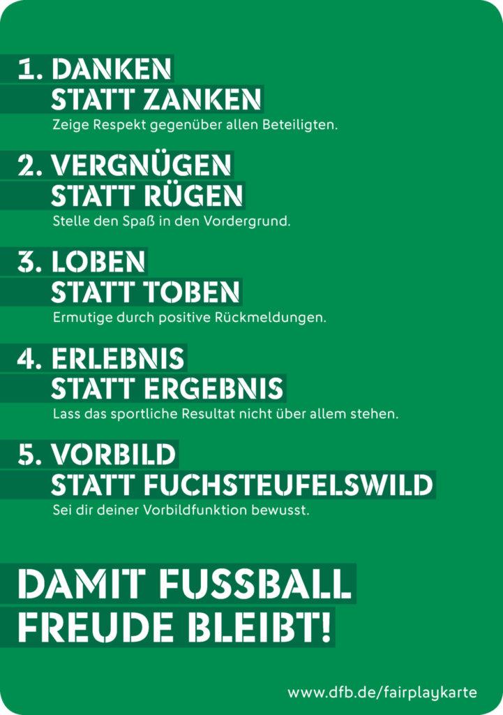 Fair Bleiben Liebe Eltern Damit Fussball Freude Bleibt